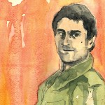 Illustration of Robert De Niro by Matt Kindt