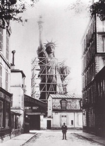StatueofLibertybeingbuilt