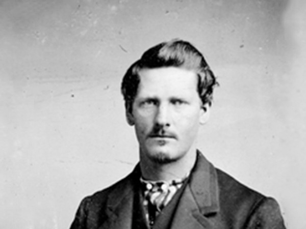 """Wyatt Earp, age 21: """"personal fear doesn't enter into the equation."""""""